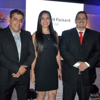 Emilio Casanovas, Paola Jimenez y Yhalmad Aboawad