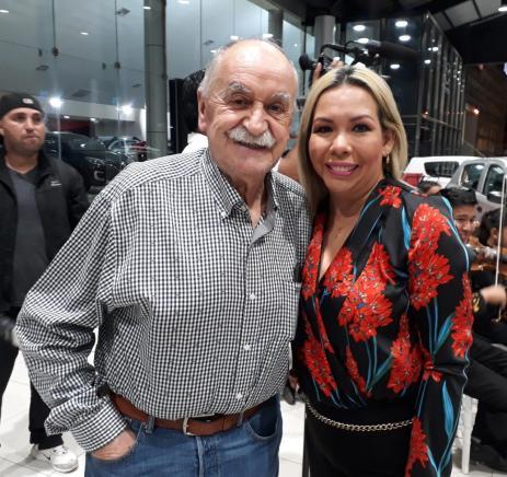 Xabier Azkargorta y Aracely Saucedo