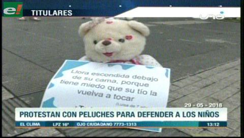 Video titulares de noticias de TV – Bolivia, mediodía del martes 29 de mayo de 2018
