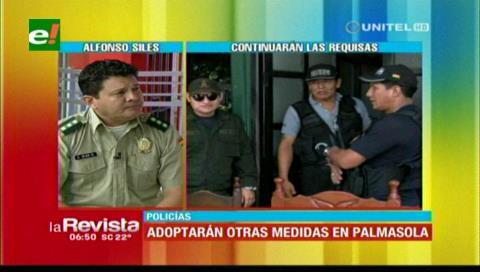 Comandante Siles afirma que los controles en Palmasola seguirán y pedirán traslado de reos
