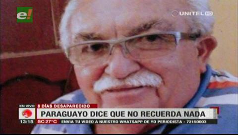 Hallan a paraguayo luego de 6 días de desaparecido