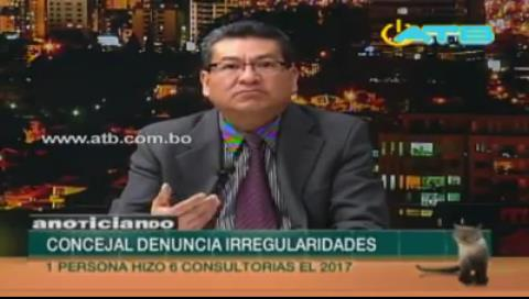 Denuncian más irregularidades en la Alcaldía de Cochabamba
