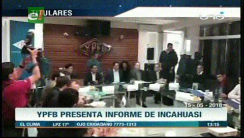 Video titulares de noticias de TV – Bolivia, mediodía del martes 15 de mayo de 2018