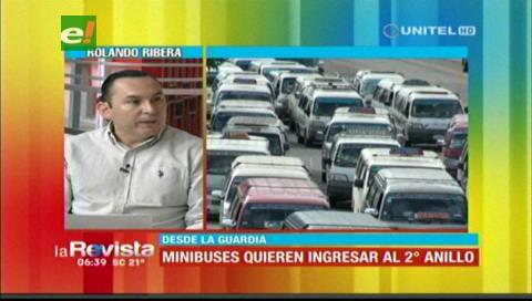 Municipio cruceño pide a la población evitar que transportistas generen caos vehicular