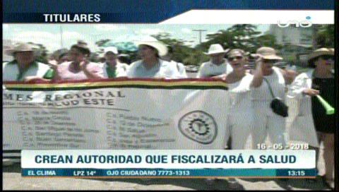 Video titulares de noticias de TV – Bolivia, mediodía del miércoles 16 de mayo de 2018