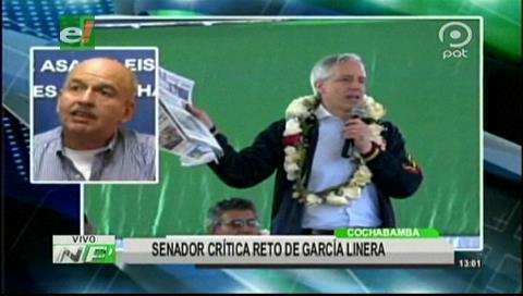 Murillo dice que García Linera siempre busca debatir y después retrocede