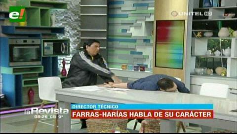 """Humor: Farras-Harías habló de su carácter y terminó """"agrediendo"""" a Ronico"""