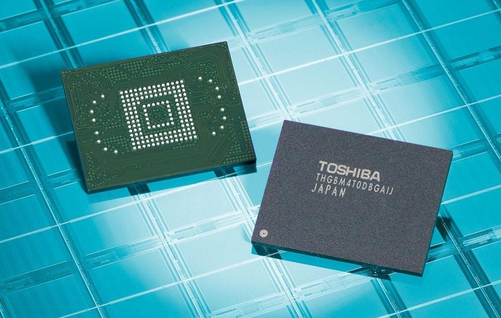 Chip de memoria de Toshiba