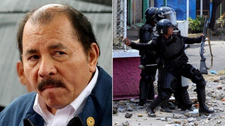 La represión del régimen de Daniel Ortega en Nicaragua ha dejado más de75 muertos desde el 18 de abril