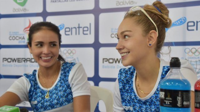 María José Vargas y Natalia Méndez.