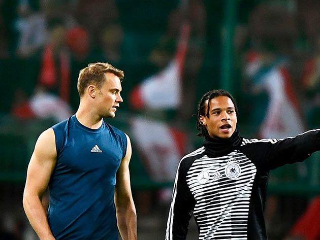 Low deja sin Mundial a Leroy Sané y confirma a Neuer
