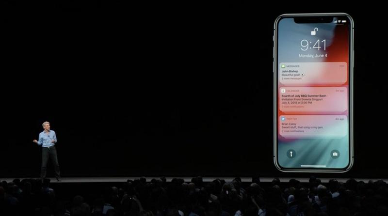 Notificaciones agrupadas en iOS 12
