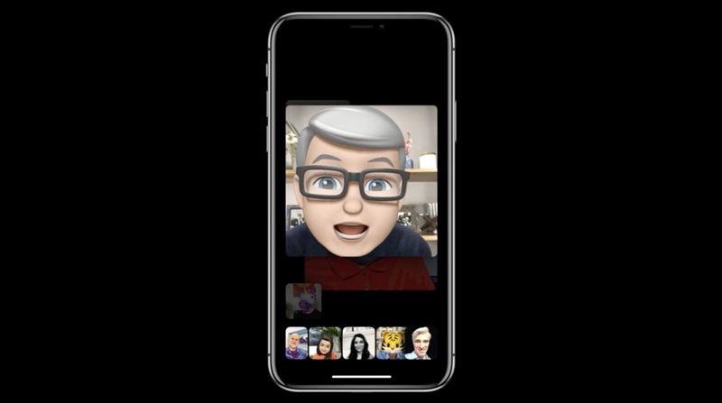Animojis en tiempon real a través de las videollamadas de FaceTime