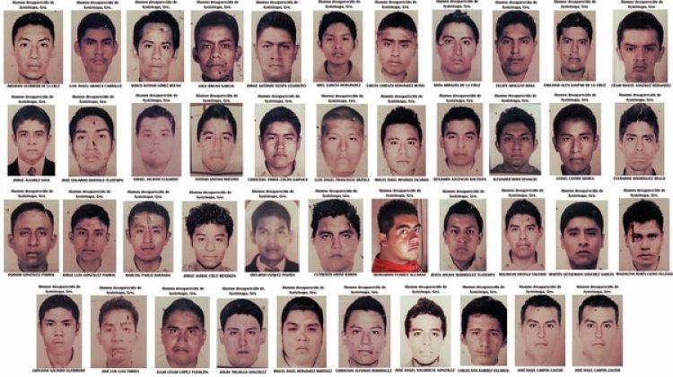 Los 43 estudiantes desaparecieron hace 4 años