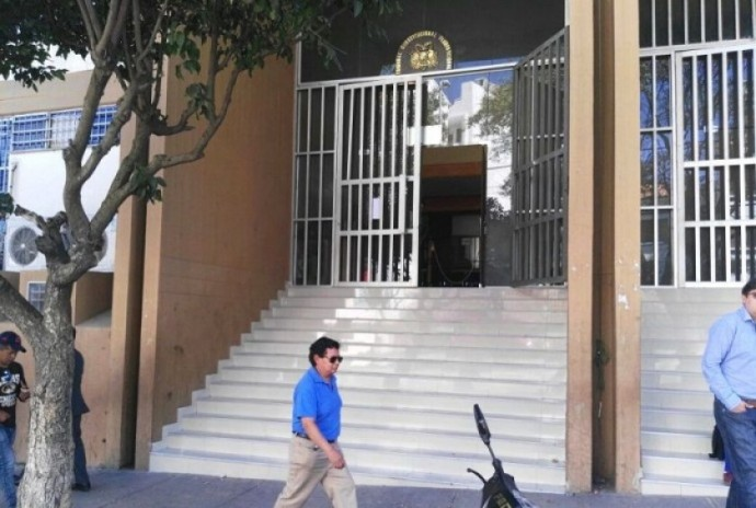 El frontis del Tribunal Constitucional Plurinacional. FOTO: Archivo