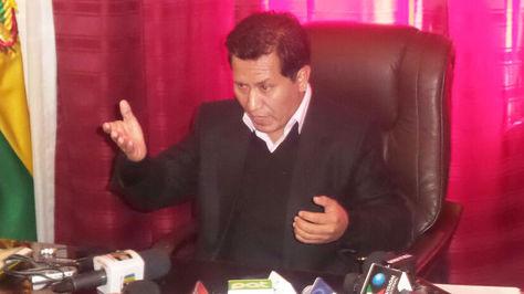 El diputado plurinacional y responsable de la Primera Vicepresidencia de Diputados, Juan Lino Cárdenas.