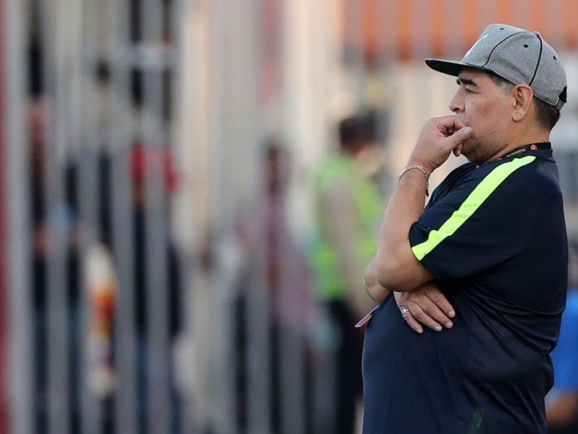 Diego Maradona es hospitalizado en Colombia