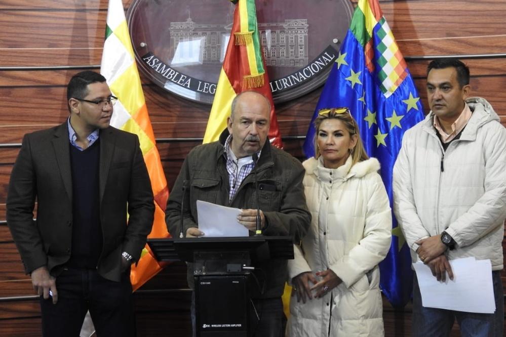 La comisión paralela del caso Lava Jato convoca a Rodríguez Veltzé