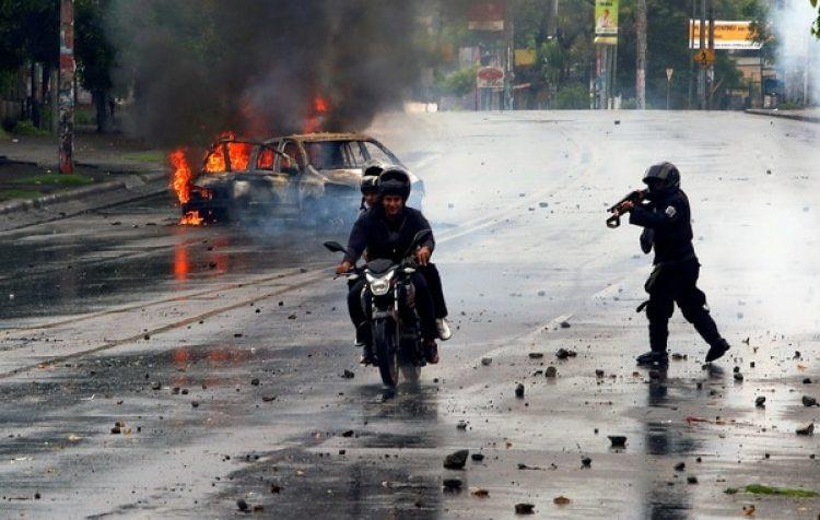La represión en Nicaragua dejó más de 100 muertos (REUTERS/Oswaldo Rivas TPX IMAGES OF THE DAY)