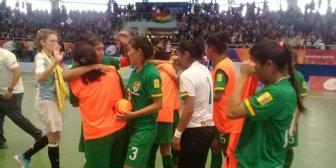 Bolivia consigue  bronce tras vencer a Argentina