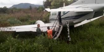 Incautan en Venezuela aeronave usada para narcotráfico y detienen a dos mexicanos