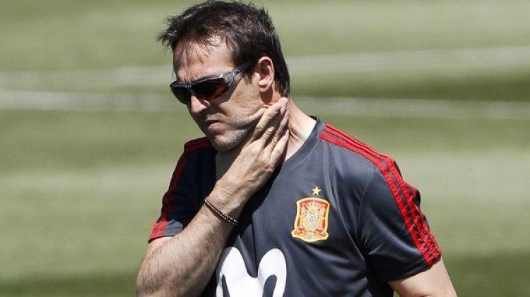 Julen Lopetegui fue despedido de la selección de España a un día del inicio del Mundial (EFE)