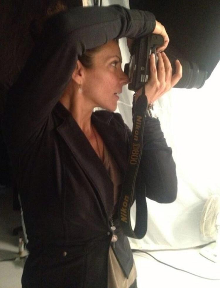 Mariana Yazbek hoy, siendo una fotógrafa muy respetada (Foto: Twitter)