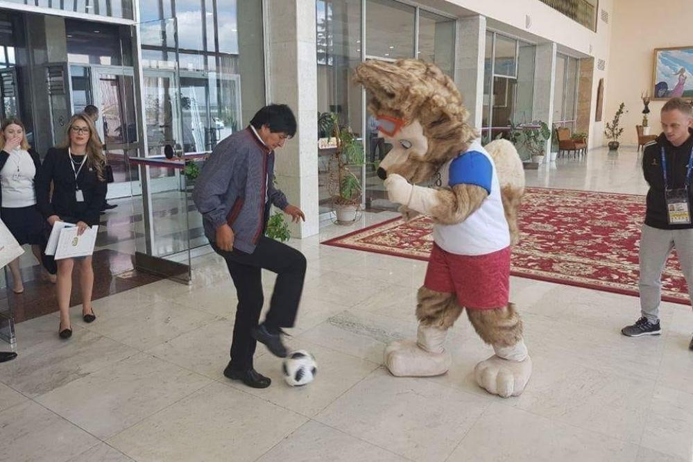 Evo en los mundiales: De verlo con niños en Palacio a las butacas de los grandes estadios