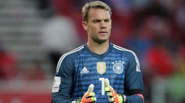 Manuel Neuer, luego de9 mesesde inactividad, será el dueño del arco alemán (Reuters)