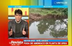 AMDECO critica denuncia de supuesta contaminación por fuga de amoniaco
