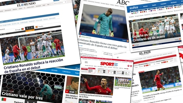 Ve la repetición de Portugal vs España completo, Mundial 2018