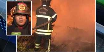 Personas en situación de calle provocan incendio