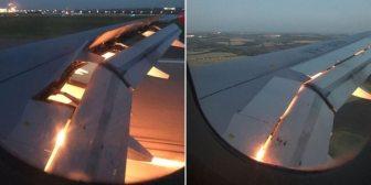 El avión que trasladaba al plantel de Arabia Saudita se prendió fuego durante el aterrizaje en Rostov