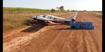 Brasil incauta 420 kilos de cocaína en avioneta procedente de Bolivia