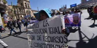 Docentes, estudiantes y administrativos de la UPEA marcharán de Patacamaya a La Paz por cambios en la Ley 195