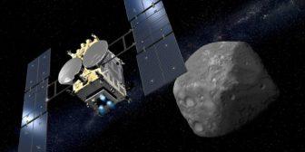 """La misión Hayabusa 2 desvela la """"sorprendente forma"""" del asteroide Ryugu"""