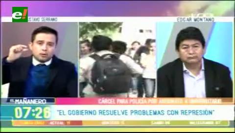"""Serrano: """"El Gobierno resuelve sus problemas con represión"""""""