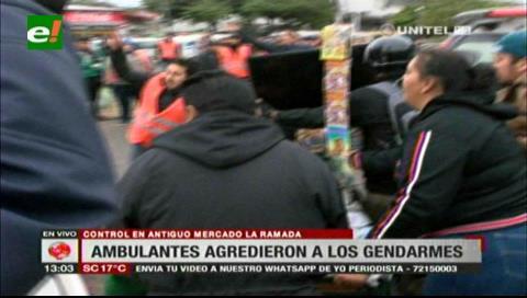 Santa Cruz: Realizan estrictos controles para recuperar espacios públicos