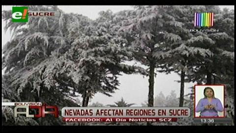 Intenso frío afecta a varias regiones de Chuquisaca