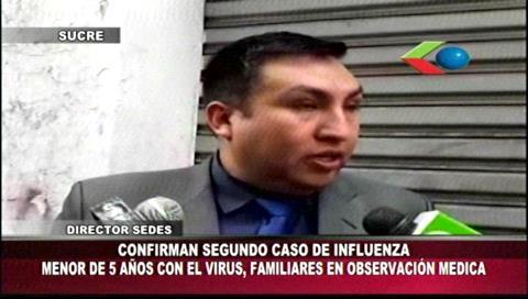 Niña de cinco años es el segundo caso positivo de influenza en Sucre