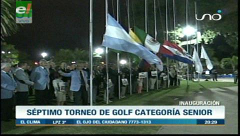 Gran afluencia de golfistas al VII Torneo Latinoamericano Senior Amateur en Las Palmas Country Club