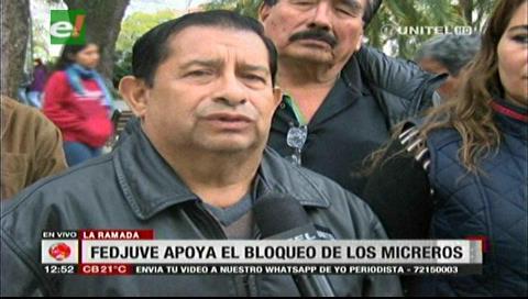 Fejuve pide a la Alcaldía cruceña dejar que micros circulen por la avenida Grigotá