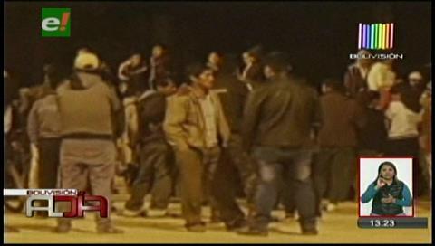 Vecinos de Sipe Sipe intentaron linchar a una pareja