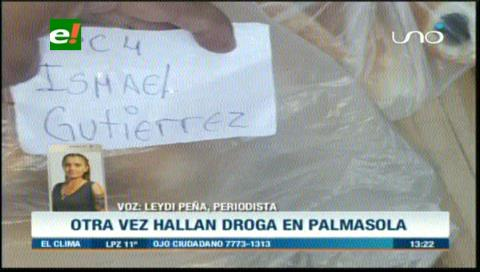 Hallan droga en pan que ingresó a Palmasola