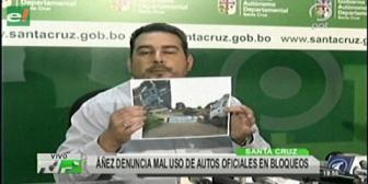 Gobernación cruceña denuncia uso de bienes públicos en movilización convocada por Amdecruz