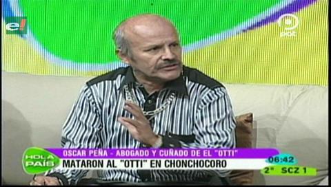 """Abogado de """"Oti"""" vincula al ministro Romero con la muerte del reo en Chonchocoro"""