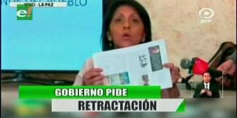 Video titulares de noticias de TV – Bolivia, noche del viernes 22 de junio de 2018