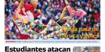 Portadas de periódicos de Bolivia del viernes 15 de junio de 2018