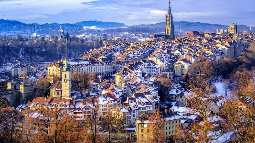 Foto: Un día de nevadas en los Alpes. (iStock)