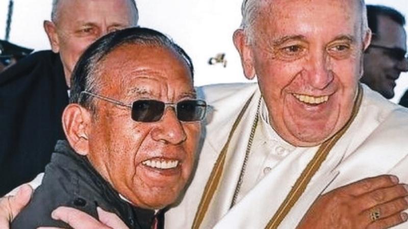 """El Papa al cardenal Toribio: """"¡Ya no vas a comer carne de gato!"""""""